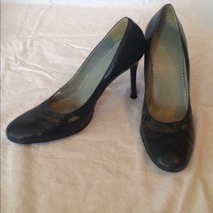 Navy BCBGirls heels, size 10